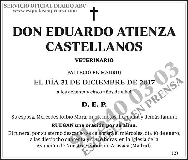 Eduardo Atienza Castellanos